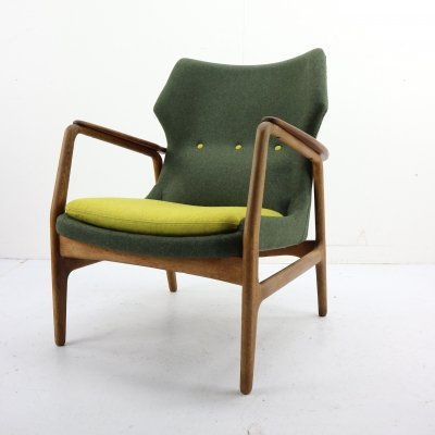 Aksel Bender Madsen Wingback Chair for Bovenkamp, 1950s