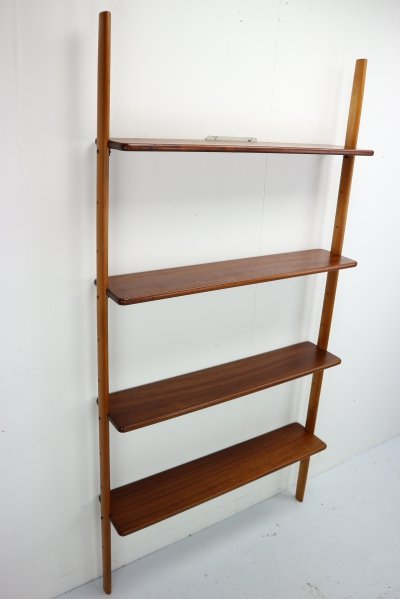 Wall Unit or Bookcase by William Watting for Scan Flex, Danish Design 1950
