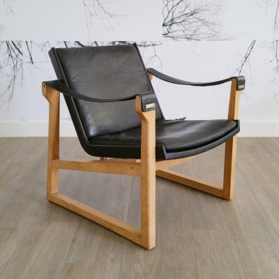 Lounge Chair by Karen & Ebbe Clemmensen for Fritz Hansen, 1960s