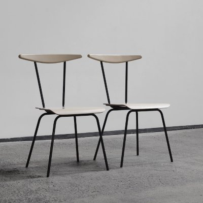 Pair of 'Dress Boy' chairs by Wim Rietveld for Auping, Holland 1950s