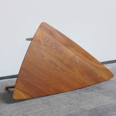 Solid teak coffee table by Bovenkamp, Holland 1957
