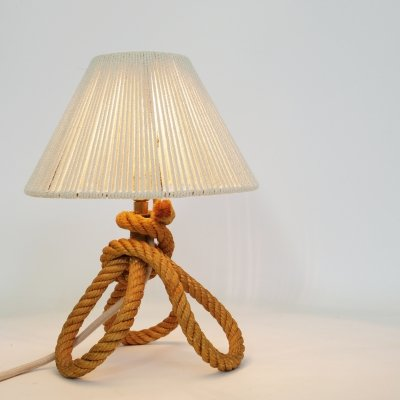 Little rope lamp from the 1950s-1960s