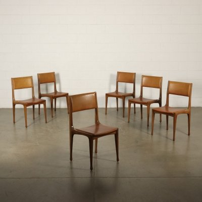 Set of 6 'Model 693' Chairs by Carlo de Carli for Cassina