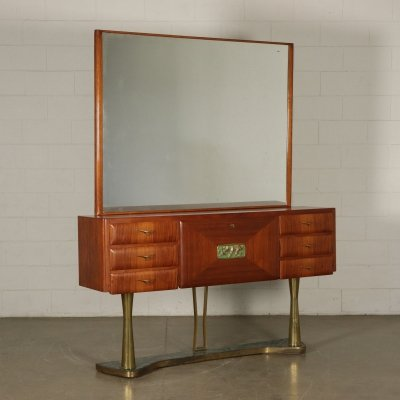 1950s Vintage Console with mirror