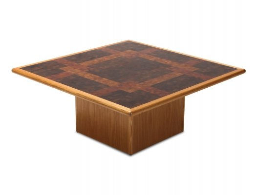 Wenge coffee table by Rolf Middelboe & Gorm Lindum for Tranekaer, 1970s