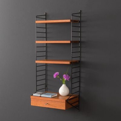 Original String wall unit by Nils Strinning, 1950s