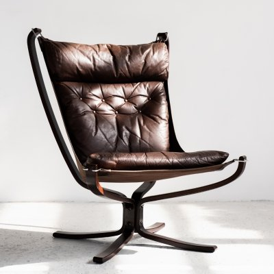 Falcon lounge chair by Sigurd Ressell & Sigurd Resell for Vatne Møbler, 1970s