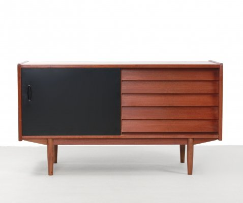 Teak Swedish design sideboard by Nils Jonsson for Hugo Troeds