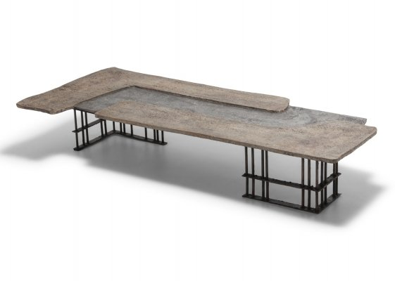 Pia Manu Authentic Coffee Table by Jules Dewaele, 1970s