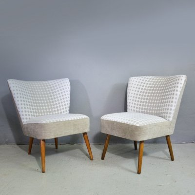 Pair of Cocktail chairs, 1950's