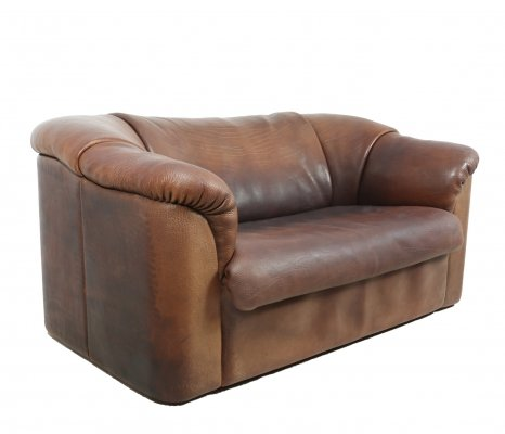 De Sede DS45 Sofa in Brown Neck Leather