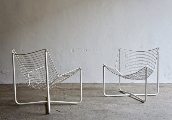 Pair of Jarpen Chairs by Niels Gammelgaard for Ikea, 1980's