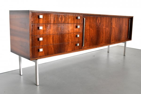 Large rosewood sideboard, 1960s