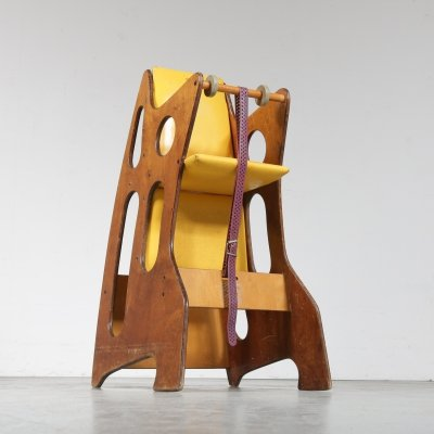 Hokus Pokus Multimobil Children's chair by Opos, Sweden 1970s