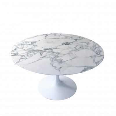 Arabescato Marble Dining Table by Eero Saarinen for Knoll
