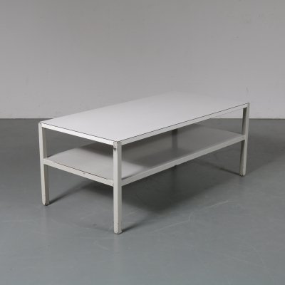 Two-top coffee table by Wim Rietveld for Ahrend / de Cirkel, The Netherlands 1950s