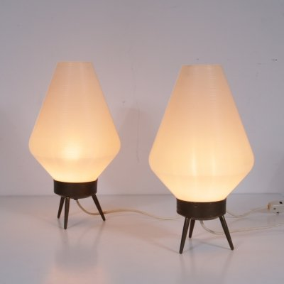 Pair of table lamps by Rotaflex, United States 1950s