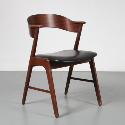 Rosewood dining chair by Kai Kristiansen for Korup, Denmark 1950s