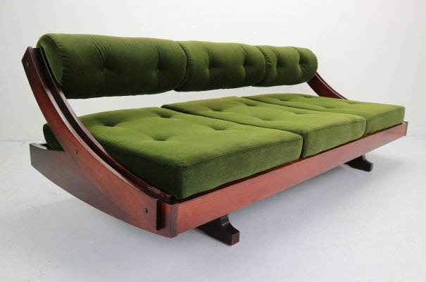 Gianni Songia GS195 Daybed / Sleeping Sofa for Sormani, Italy 1970s
