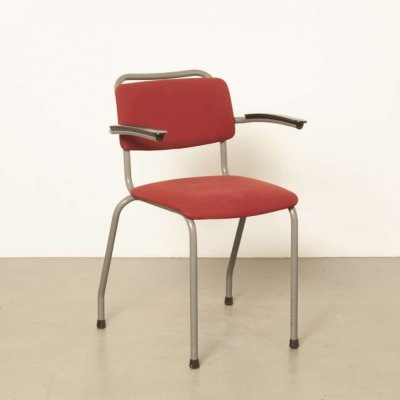 5 x Model 206 / TH-Delft arm chair by W. Gispen for Gispen, 1960s
