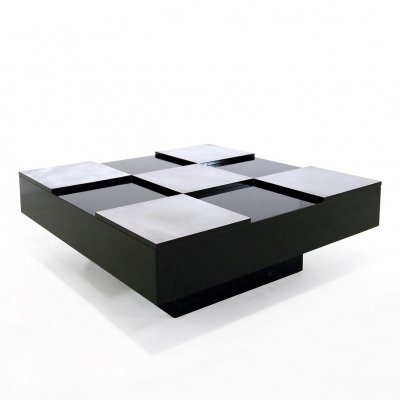 Coffee table by Willy Rizzo, 1970s