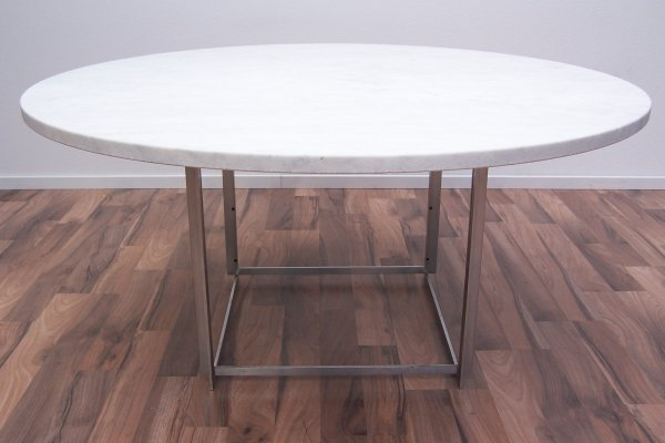 PK54 dining table by Poul Kjærholm for E. Kold Christensen, 1960s