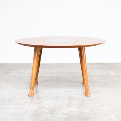 Round dining table, 1990s