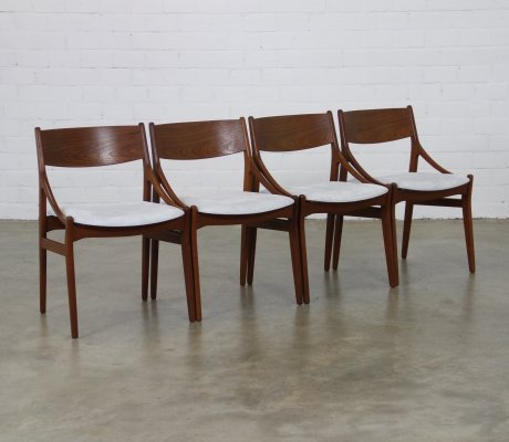 Set of 4 dining chairs by Vestervig Eriksen for H. Vestervig Eriksen, 1960s