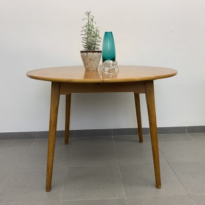 Vintage round dining table, 1960's