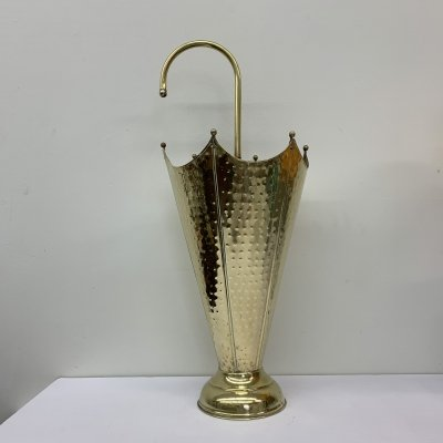 Brass umbrella stand, 1960's