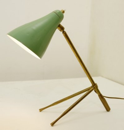 Table Or Desk Lamp by Giuseppe Ostuni for Oluce, 1950s