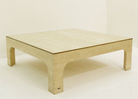 Square coffee table by Willy Rizzo, 1970s