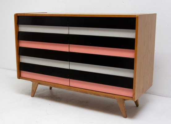 U-453 chest of drawers by Jiří Jiroutek for Interier Praha, 1960s