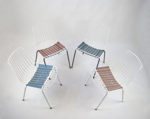 4 Garden Chairs from Stiegler Marbach, 1970s