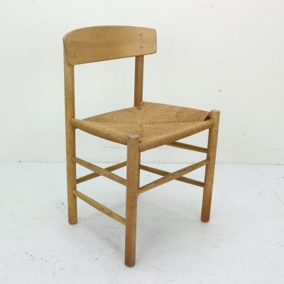 Danish Oak J39 Chair by Borge Mogensen