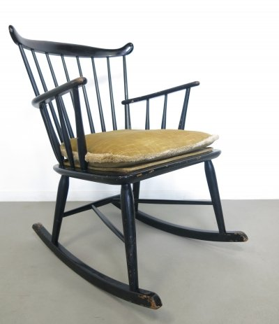 WG10 rocking chair by Børge Mogensen, 1950's