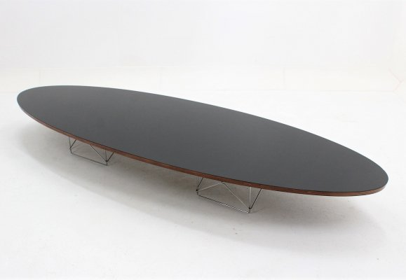 Mid century ETR surfboard oval coffee table by Charles & Ray Eames, 1960s