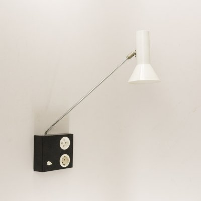 Adjustable wall lamp No. R-58 by Raak Amsterdam, 1970s