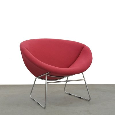Modern vintage design chair by J. H. Rohé for Rohé Noordwolde, 1950s