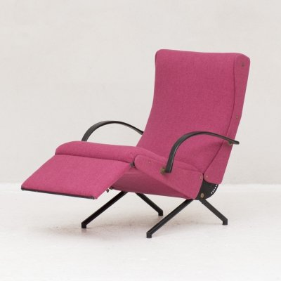 Low P40 Lounge Chair by Osvaldo Borsani for Tecno, Italy 1950s