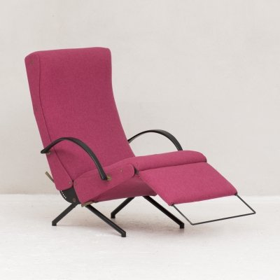 P40 Lounge Chair by Osvaldo Borsani for Tecno, Italy 1950s