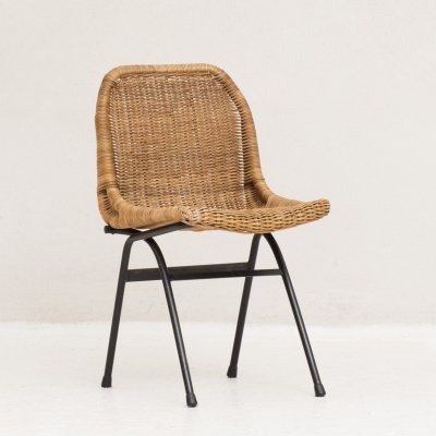 Side chair by Dirk van Sliedregt for Rohé Noordwolde, 1960's
