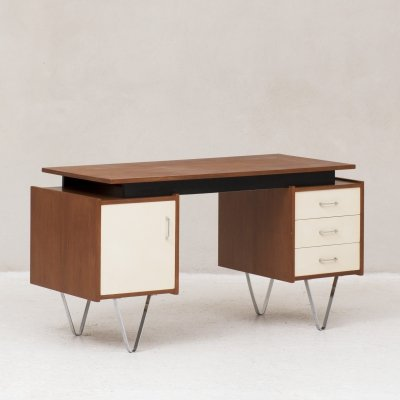 Writing desk by Cees Braakman for Pastoe, the Netherlands 1960's