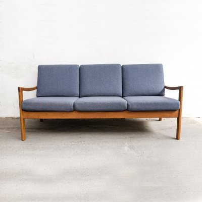 Teak 'Senator' Sofa by Ole Wanscher for Cado, 1960s