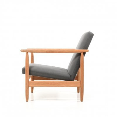 Danish Lounge Chair by Ejvind A. Johansson for FDB