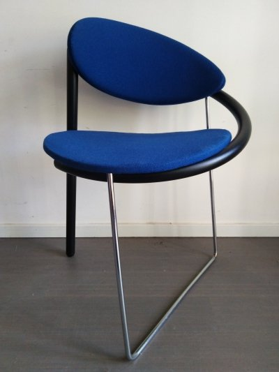 Set of 6 dining chairs by Pierre Mazairac & Karel Boonzaaijer for Castelijn, 1980s