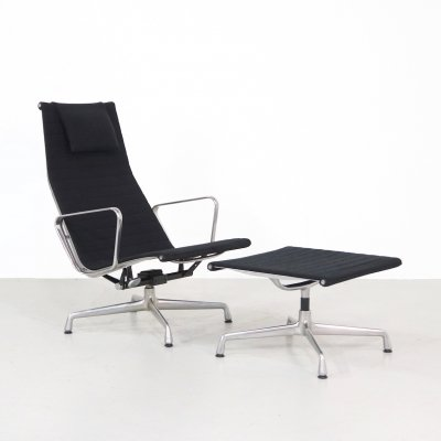 EA 124 - EA 125 lounge chair by Charles & Ray Eames for Vitra, 1990s