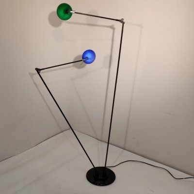 Minimalistic Dutch Design dimmable floor lamp by Pola design Amstelveen, 1990s