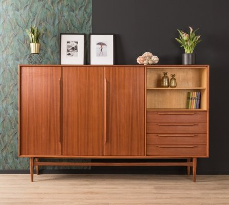 Teak sideboard by Heinrich Riestenpatt, Germany 1960s