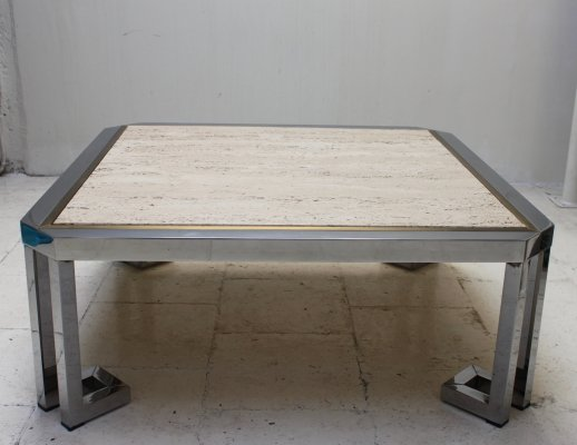 Vintage Travertine table, 1970s